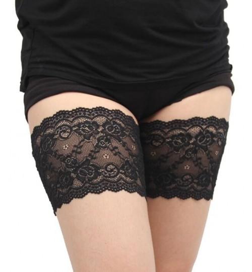 Lace Anti-Chafing Thigh  Leg Warmers