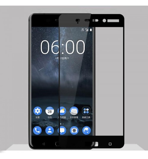 NOKIA 5  Full Cover Tempered Glass Screen Protector