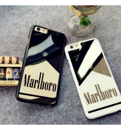 iPhone 6 Plus case Marlboro Mirror case+combo