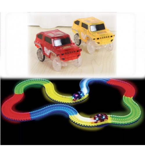 Electronics Cars 1 LED  For Magic Tracks With Flashing Lights SP