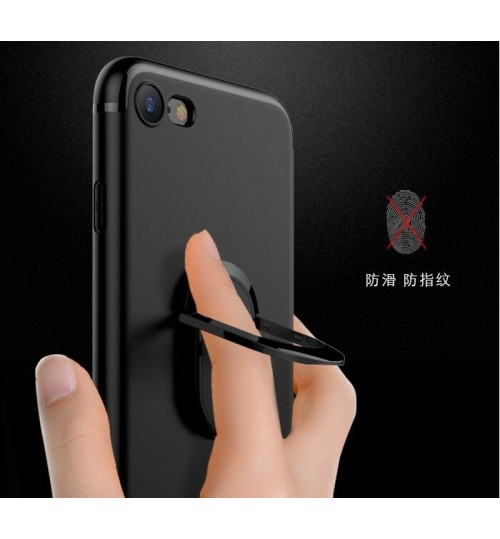 iPhone 7 iPhone 8 Case Heavy Duty Ring Rotate Kickstand Case Cover