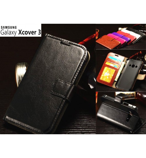 Samsung Galaxy Xcover 3 vintage fine leather case