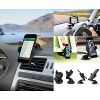 Cell Phone Car Mount Holder Uninversal Stand Clip