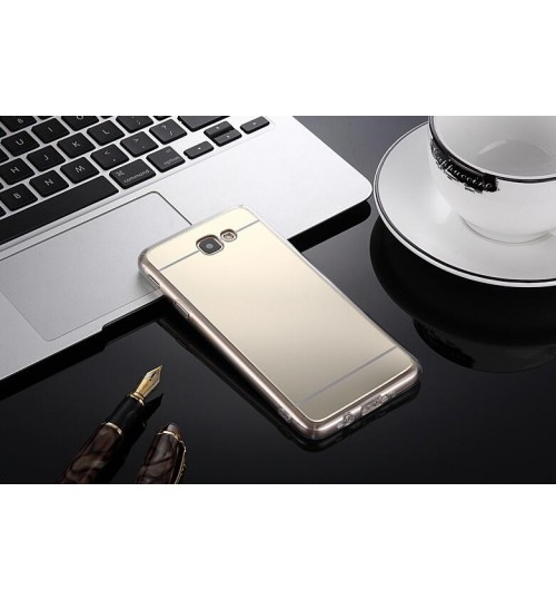 Samsung Galaxy J5 PRIME Soft Gel TPU Mirror back Case