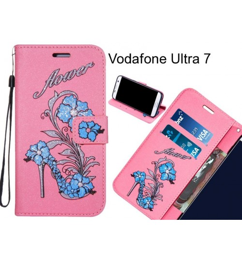 Vodafone Ultra 7  case Fashion Beauty Leather Flip Wallet Case
