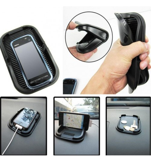 Anti-Slip Dashboard Mat for Phones Keys Coins