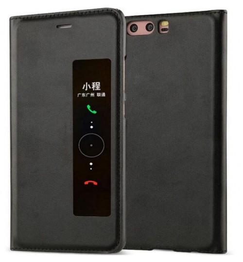 Huawei P10 PLUS Case Flip Leather Window View Case