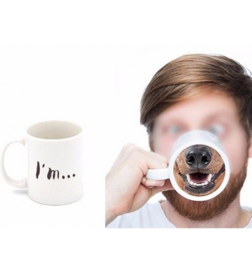 Coffee Mug Fun Dog Nose