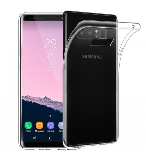 Galaxy Note 8 Case Clear Gel Ultra Thin soft tpu case