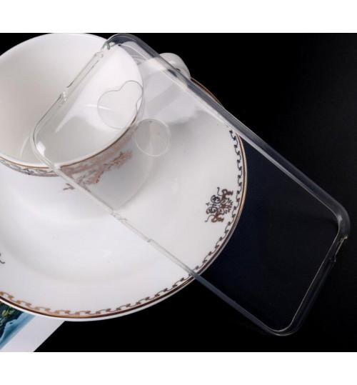 Vodafone V8  Case Clear Gel Ultra Thin soft tpu case
