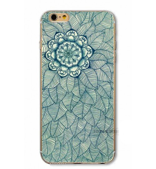 iPhone 7 Plus Case Printed Soft Gel TPU Case