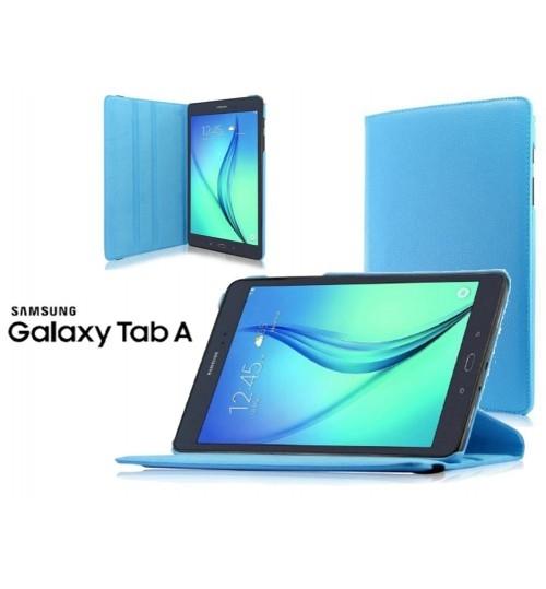 """Galaxy Tab A 8"""" 2017 T385 T380 Smart Flip Leather Case+Pen"""
