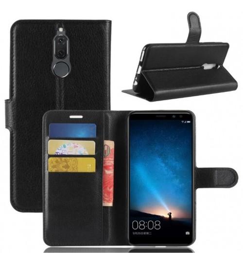 Huawei Nova 2i Case Leather Wallet Cover+Pen