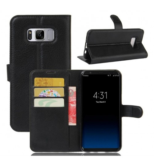 Samsung galaxy s8 wallet leather case