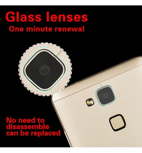 Huawei MATE 7 camera lens protector tempered glass 9H hardness HD