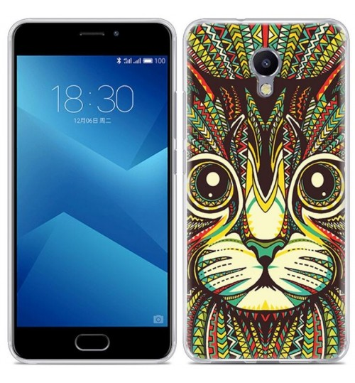 Meizu M5 Note  case Ultra Slim Soft Gel TPU printed case