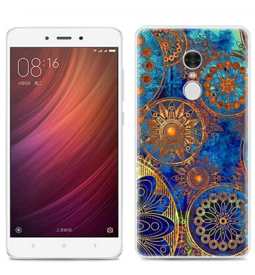 Redmi Note 4 case Ultra Slim Soft Gel TPU printed case soft cover