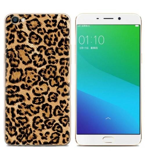Oppo A77 case Ultra Slim Soft Gel TPU printed case soft cover
