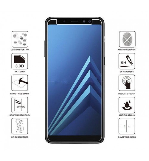 Galaxy A8 plus 2018 Tempered Glass Screen Protector