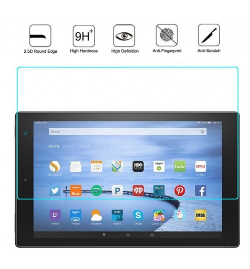 Kindle fire HD 10 2017 Tempered Glass Screen Protector Film
