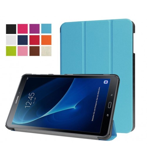 Galaxy Tab A 8.0 Cover Case (SM-T350) luxury fine leather smart cover