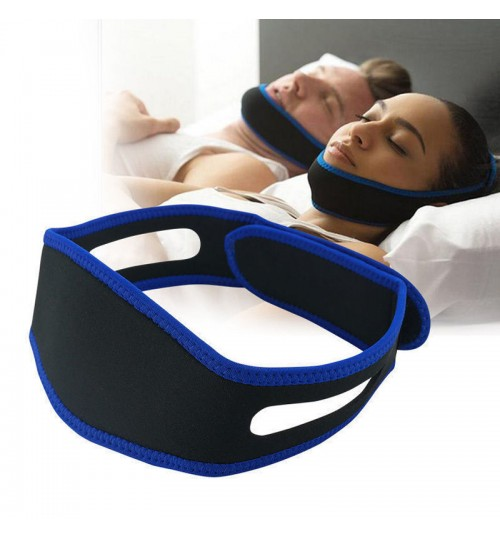 Stop Snoring Sleep Adjustable Chin Support Strap
