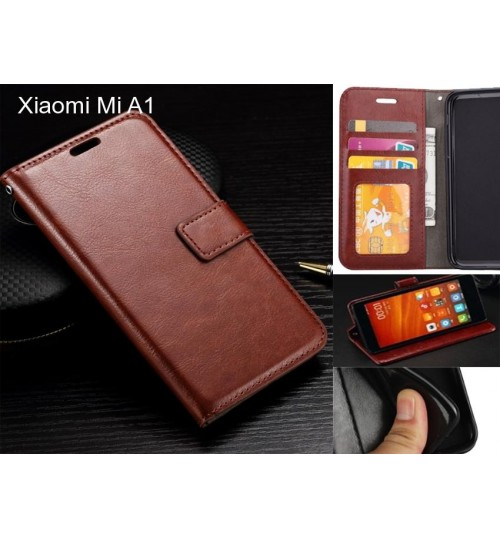 Xiaomi Mi A1 case Fine leather wallet case
