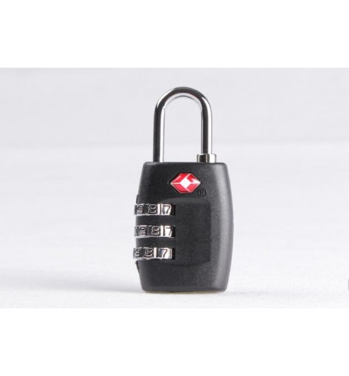 TSA Resettable 3 Digit Combination Lock Travel Luggage Suitcase Lock Padlock