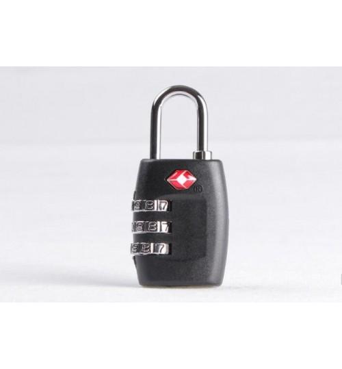TSA Resettable 3 Digit Combination Lock Travel Luggage Suitcase Lock Padlock