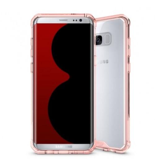 Galaxy S8 case bumper  clear gel back cover