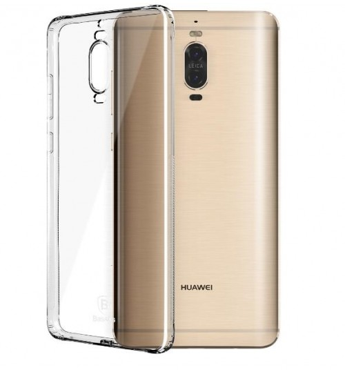 Huawei MATE 9 pro case crystal clear gel ultra thin+SP