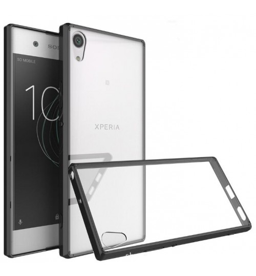 SONY Xperia XA case bumper  clear gel back cover