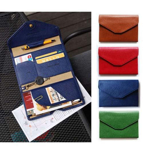 Passport Cover Holder Travel Wallet Organizer