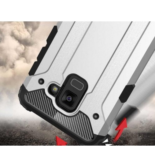 Galaxy A8 2018 Case Armor Rugged Holster Case