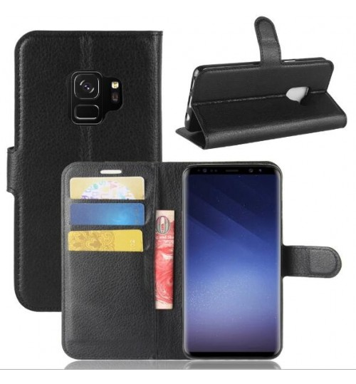 Samsung Galaxy S9  case wallet leather case cover