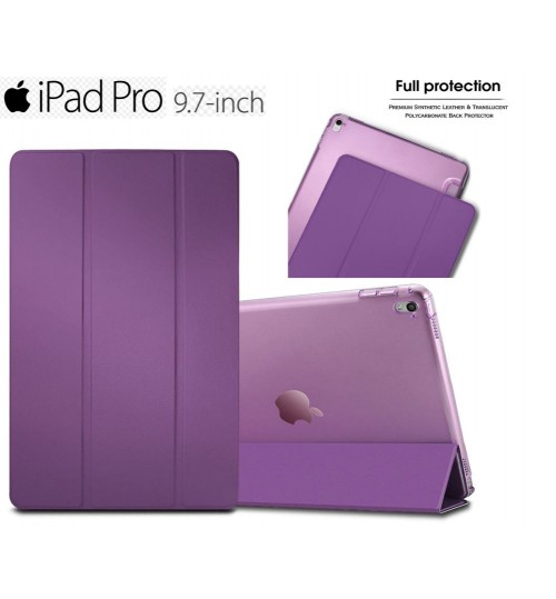 iPad Pro 9.7 Ultra slim smart case PURPLE +PEN