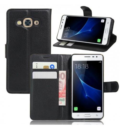 Samsung Galaxy J3 2016 case wallet leather case