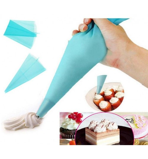 PIPING BAG Silicone Reusable Icing Piping Cream Pastry Bag