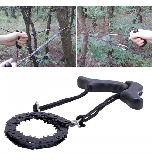 Chain Saw Portable Outdoor Survival Pocket Chain Saw