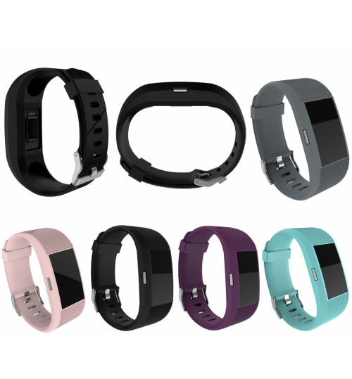 Fitbit charge 2 Silicone Watch Band Replacement Wrist Band