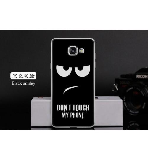 Galaxy A7 2017 case Ultra Slim Soft Gel TPU printed case