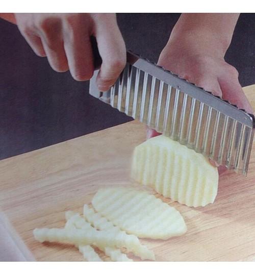 Potato Crinkle Cut Knife