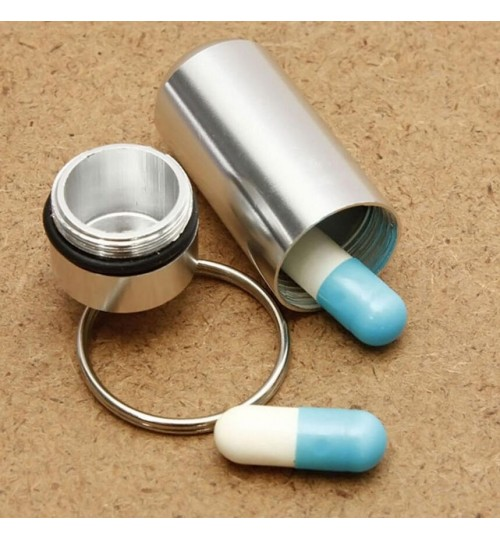 Pill Box Case Medicine Bottle Holder Container