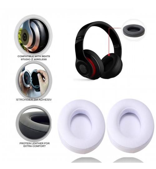 Replacement Ear Pad Soft Foam Cushion Black/White for Beats Studio 2.0 Headset