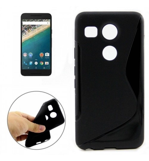 Nexus 5X case TPU gel S line case