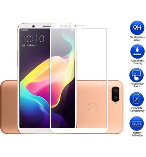 Oppo R11s Tempered Glass FULL  Screen Protector