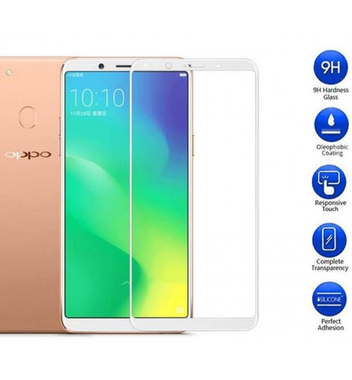 Oppo A75  Tempered Glass FULL  Screen Protector