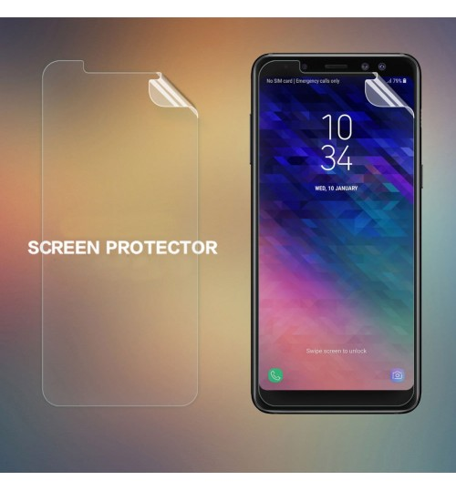 Galaxy A8 2018 Matte Dust-proof Thin Screen Protector Film