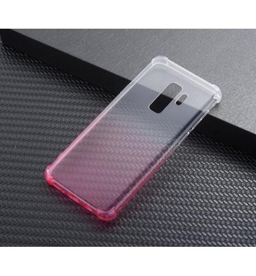 Galaxy A8 plus 2018 case  TPU Soft Gel Changing Color Case