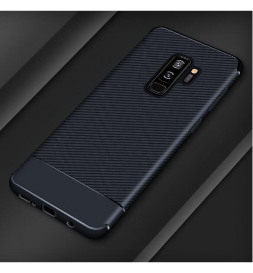 Galaxy S9 case impact proof rugged case with carbon fiber